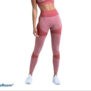 High Rise Athletic Leggings Impact Seamless Size S